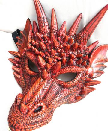 Red Dragon Mask